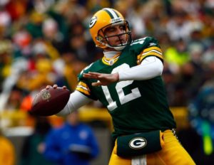 Aaron Rodgers for Green Bay Packers