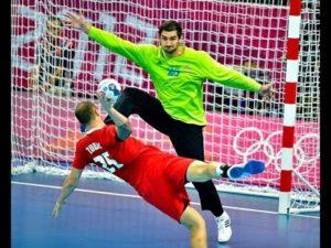 Handball goalkeeper