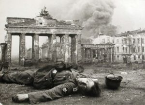 The Brandenburg Gate during World War II
