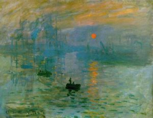 Impression, Sunrise, 1872