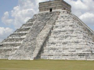 Inca pyramids.