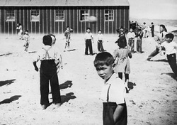 Children in the Internment camp at Idaho