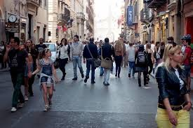 The passeggiata