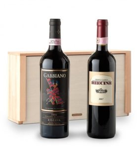 The Tuscan Chianti wine