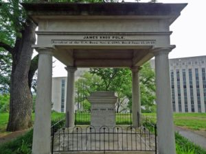 The tomb of President James K. Polk