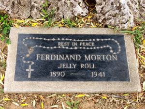 Jelly Roll Morton Grave