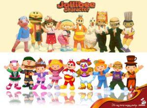 Jolliber character mascots