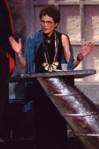 Julia Alvarez at award