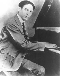 Jelly Roll Morton played piano