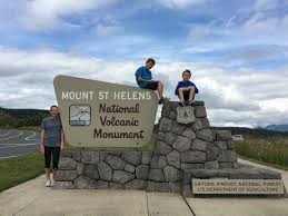 The National Volcanic Monument of Mount St Helens
