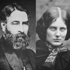 Charlotte and Arthur Bell Nicholls